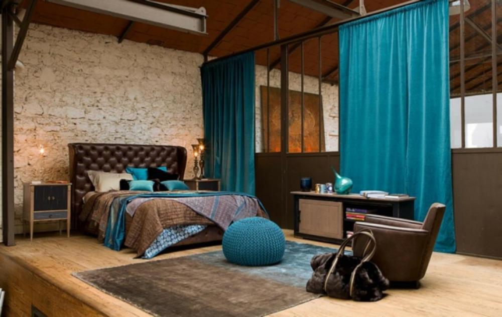 D coration archives astuces bricolage for Chambre turquoise et marron