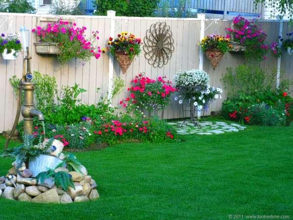 des id es pour d corer votre jardin avec trois fois rien astuces bricolage. Black Bedroom Furniture Sets. Home Design Ideas