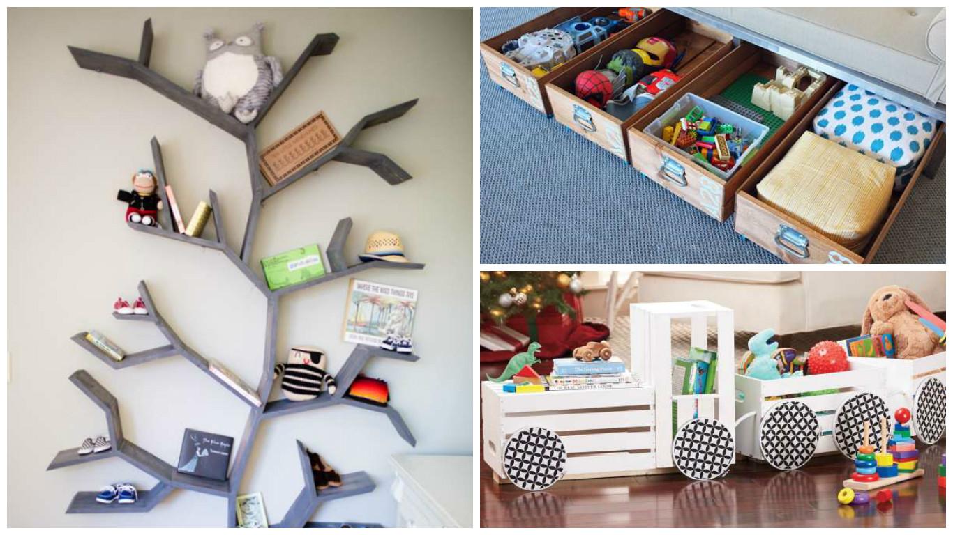 id es de rangement dans la chambre des enfants bricolage maison. Black Bedroom Furniture Sets. Home Design Ideas
