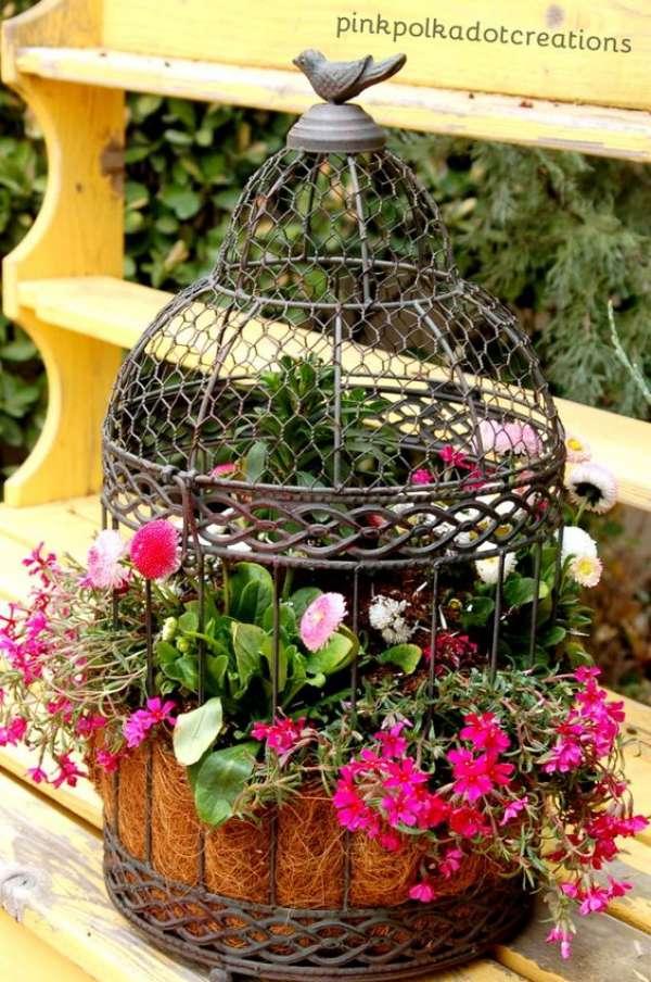 Des id es pour d corer votre jardin avec trois fois rien astuces bricolage - 50 astuces pour decorer son jardin ...