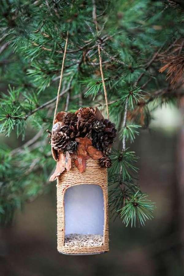 Поделки кормушки для птиц своими руками фото 889