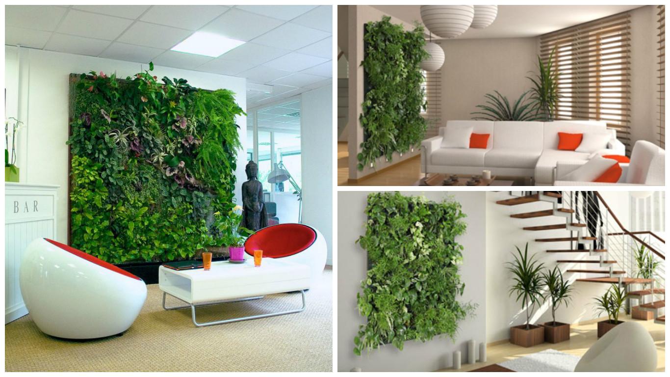 R alisation d un mur v g tal flowall avec arrosage for Realiser un mur vegetal