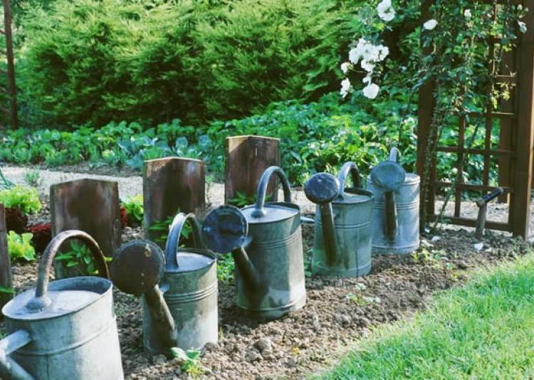 Ide bordure de jardin bordure jardin idees conseils dco for Deco originale jardin