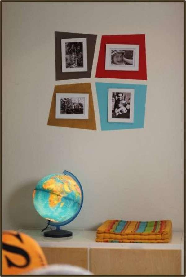 decoration murale originale bricolage. Black Bedroom Furniture Sets. Home Design Ideas