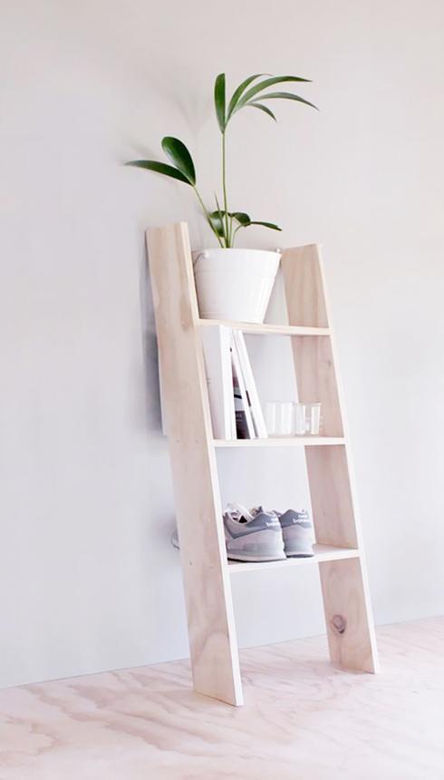 10 id es cr atives d 39 tag res faire soi m me astuces bricolage. Black Bedroom Furniture Sets. Home Design Ideas