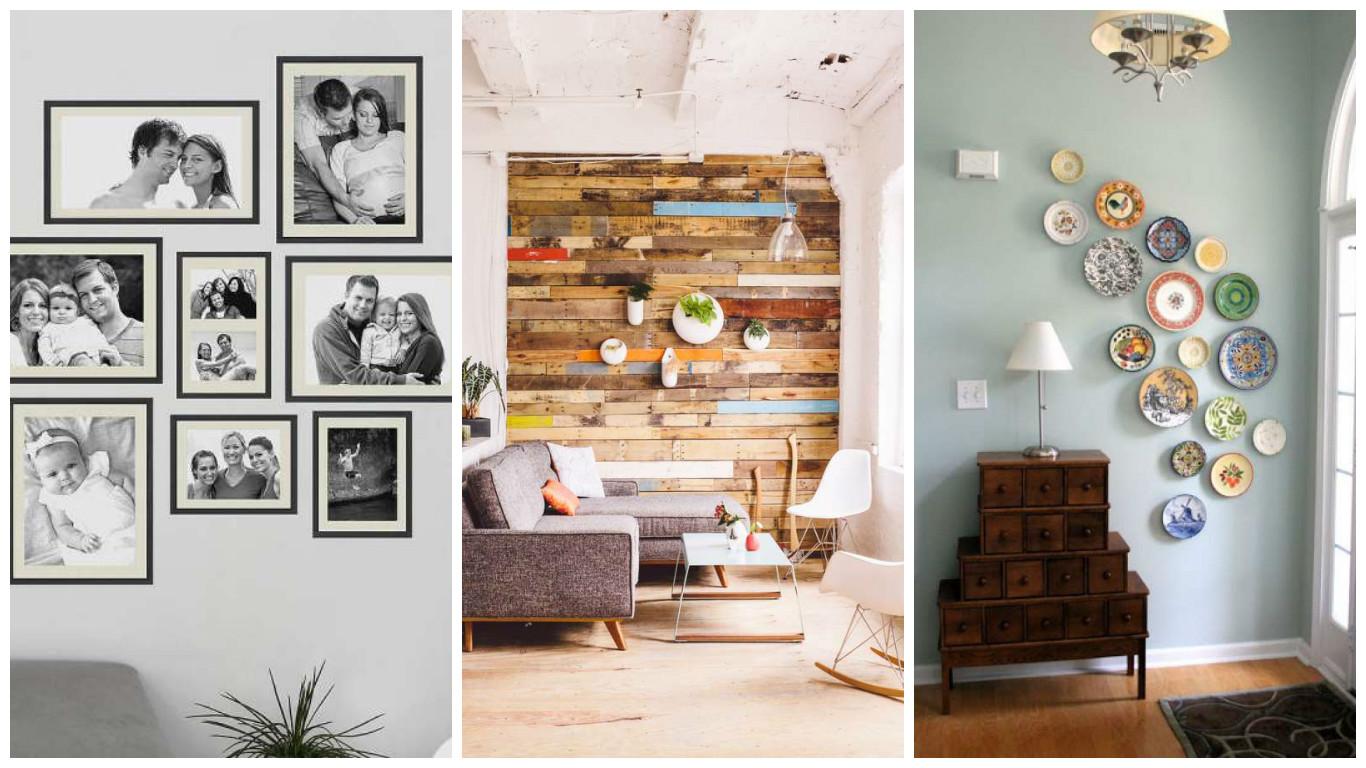 15 id es de d corations murales originales bricolage maison. Black Bedroom Furniture Sets. Home Design Ideas