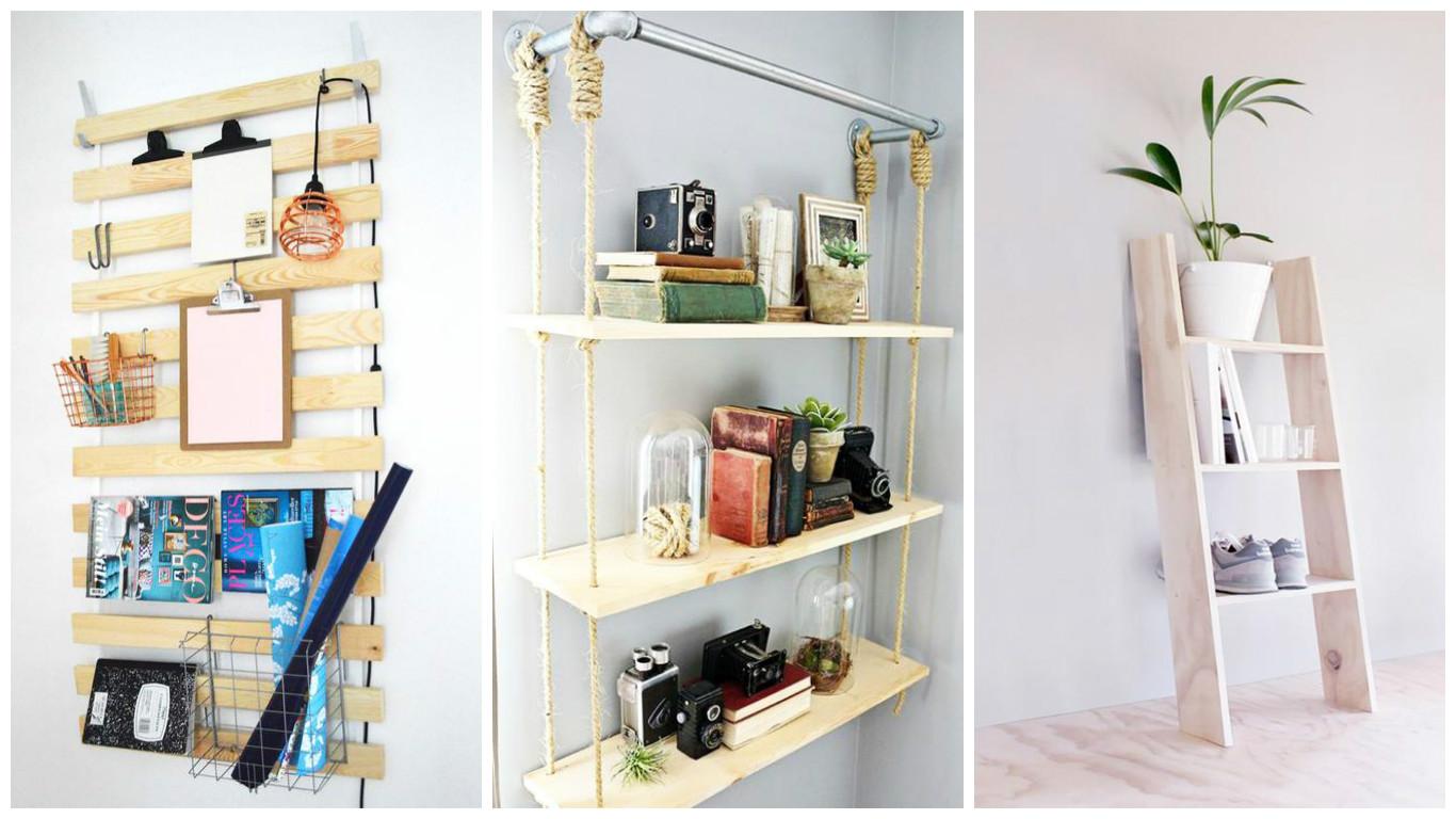 Fabriquer Une Étagère Pour Plantes 10 idées créatives d'étagères à faire soi-même! - bricolage
