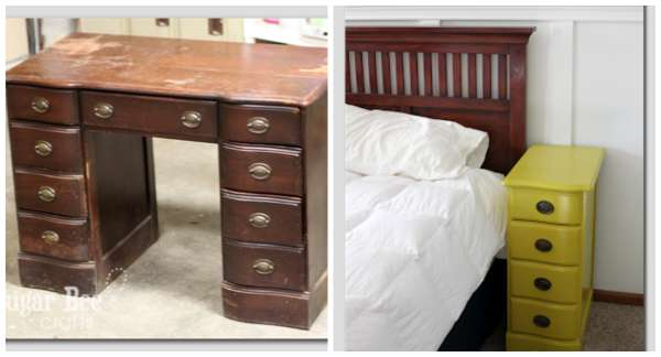 id es de r cup ration de vieux meubles poustouflant astuces bricolage. Black Bedroom Furniture Sets. Home Design Ideas