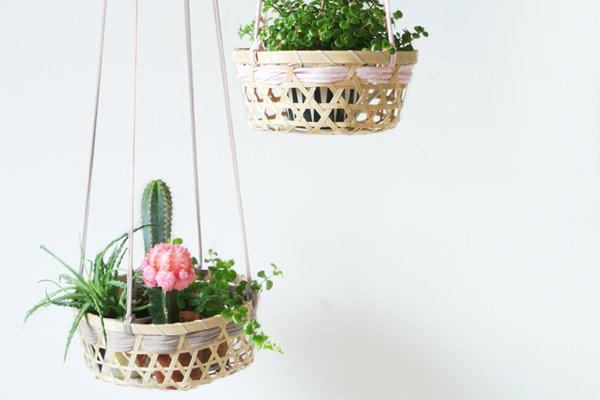 Plante Panier Suspendu : Gagner de l espace plantes suspendues astuces bricolage