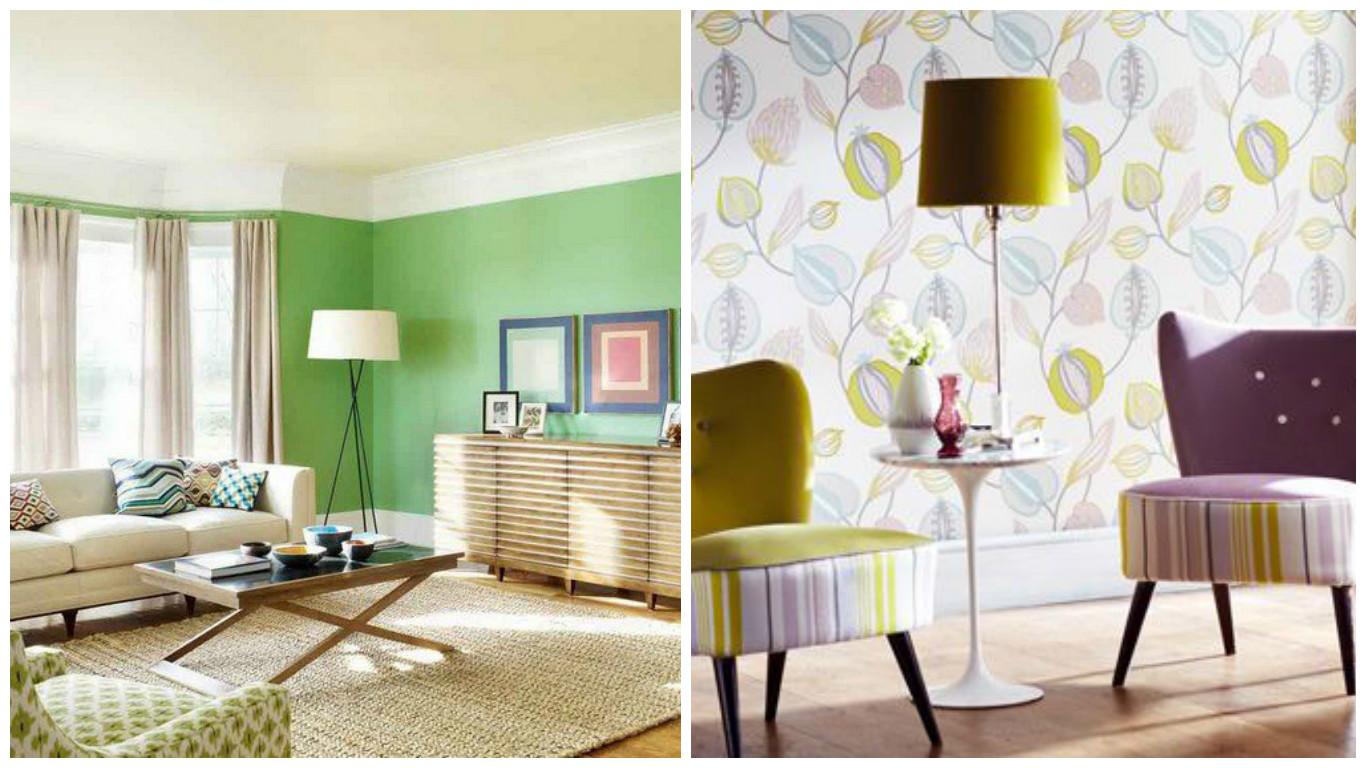 Peinture ou papier peint quel est le bon choix pour votre for Peinture interieur maison renover