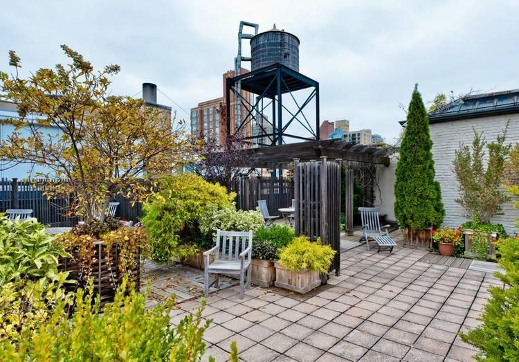Un jardin sur le toit pourquoi pas astuces bricolage - Jardin sur terrasse toit dijon ...