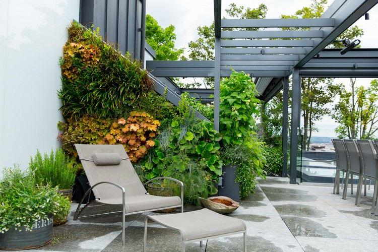 jardin sur le toit