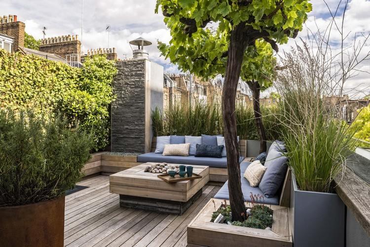 Table Exterieur Sur Mesure Of Un Jardin Sur Le Toit Pourquoi Pas Astuces Bricolage