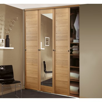 Comment fabriquer son placard coulissant bricolage maison - Fabriquer une porte de placard ...