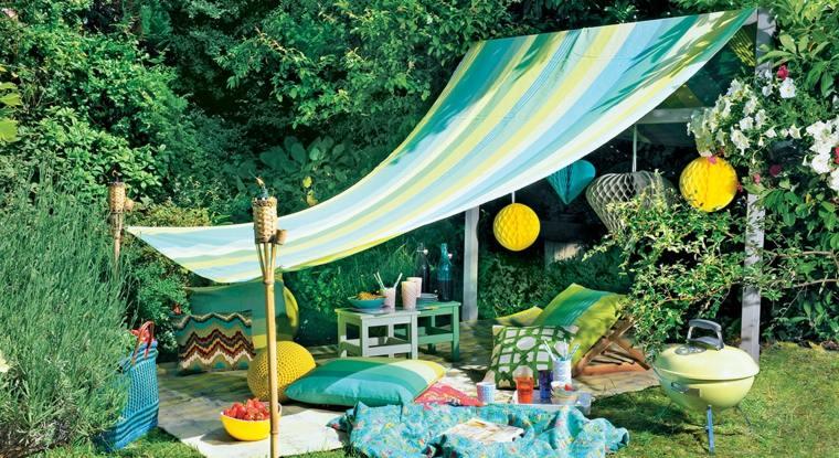 Une collection des plus belles conceptions de tente astuces bricolage - Tente de plage ikea ...