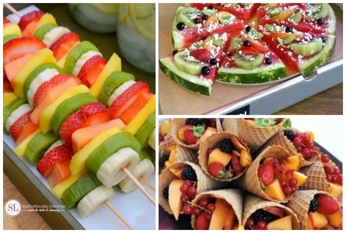 Pr sentations originales de la salade de fruits astuces for Decoration salade de fruits