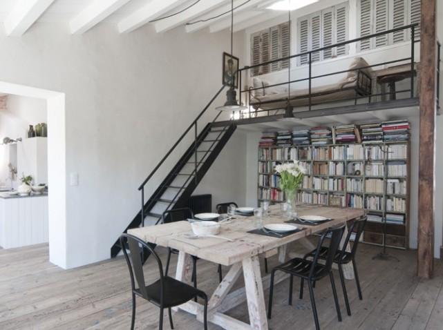 comment faire une d coration esprit loft astuces bricolage. Black Bedroom Furniture Sets. Home Design Ideas