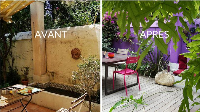 Le look ou l allure ext rieure de la maison astuces for Decoration terrasse exterieur