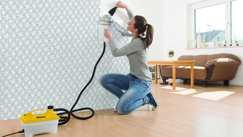 Des astuces pour décoller le papier peint   Bricolage maison