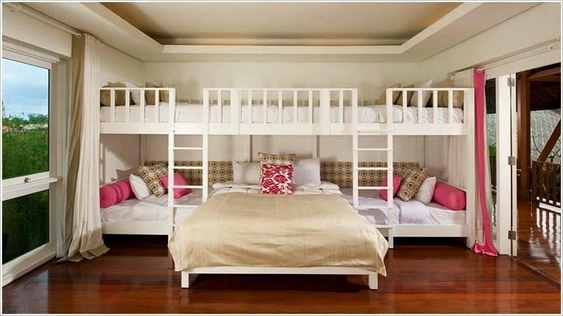 mod les de chambres d 39 enfants pour une famille nombreuse astuces bricolage. Black Bedroom Furniture Sets. Home Design Ideas