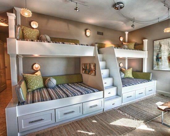 Modèles de chambres d\'enfants pour une famille nombreuse ...