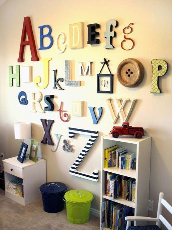 DIY-Wall-art-for-kids-room-9