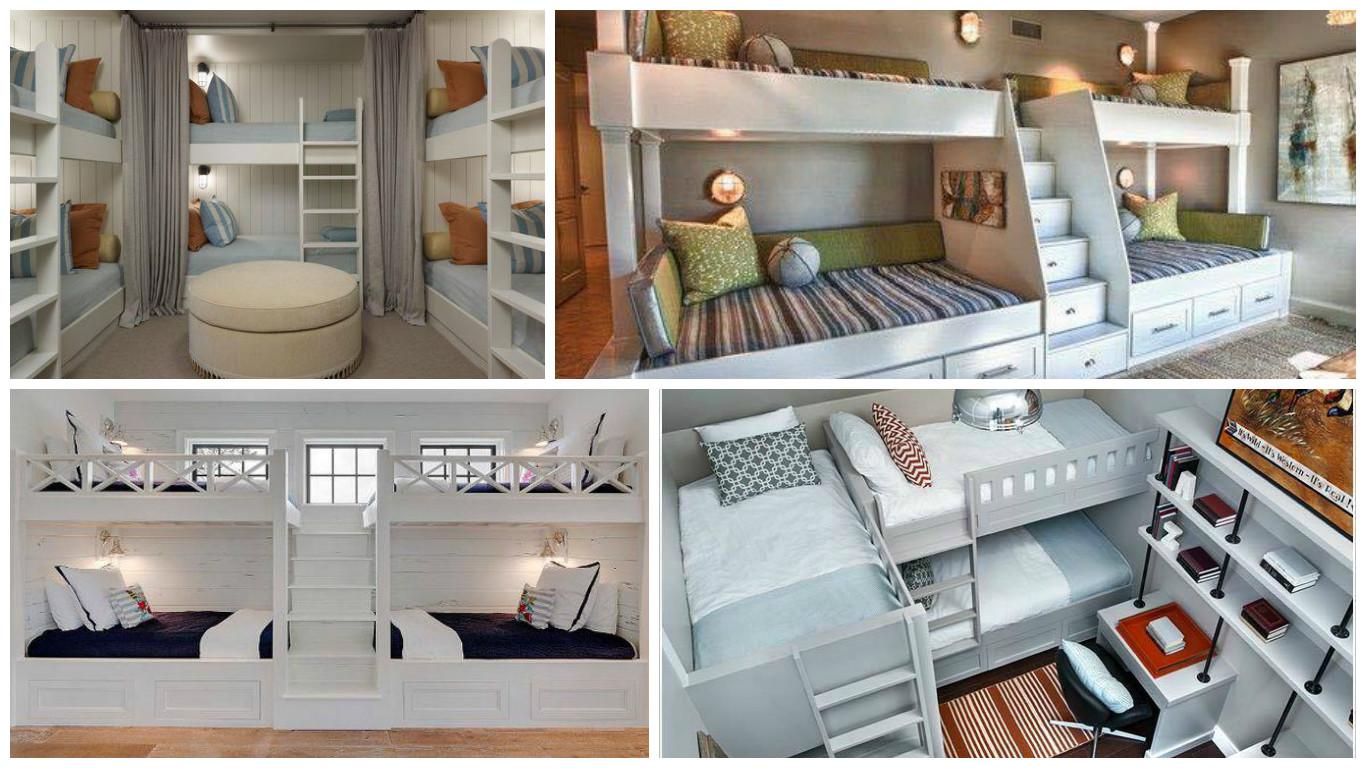 Modèles De Chambres Du0027enfants Pour Une Famille Nombreuse!   Bricolage Maison