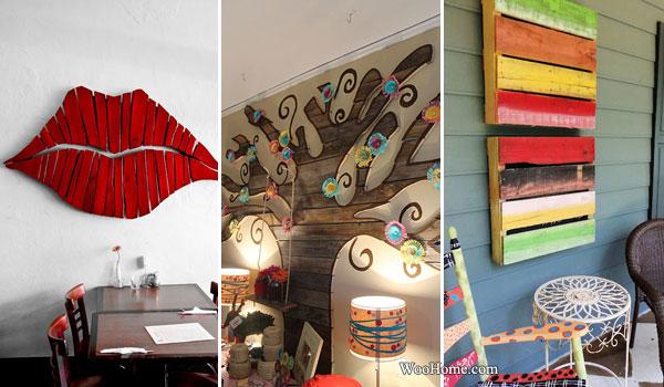 Décoration Murale Avec Des Palettes Bricolage Maison