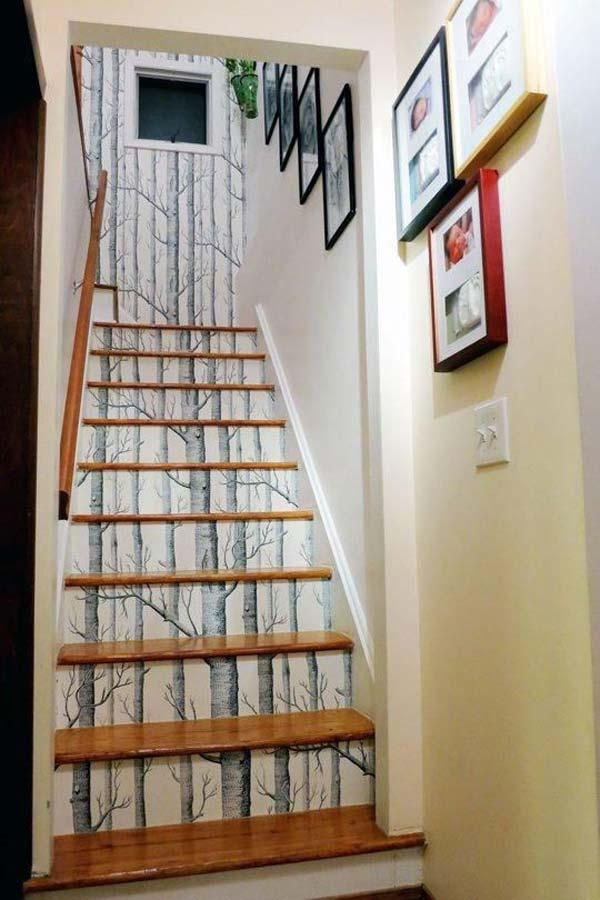 des id es de d coration de vos escaliers astuces bricolage. Black Bedroom Furniture Sets. Home Design Ideas
