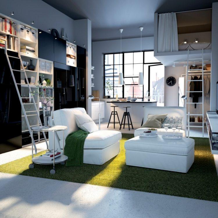 astuces pour am nager un petit studio astuces bricolage. Black Bedroom Furniture Sets. Home Design Ideas