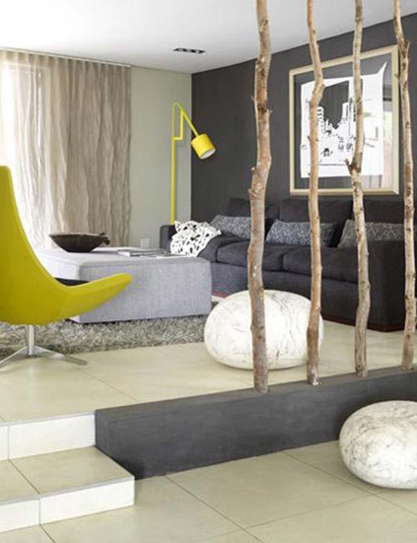 des id es originales pour faire des murs de s paration astuces bricolage. Black Bedroom Furniture Sets. Home Design Ideas