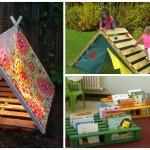Recyclage de palettes pour le bonheur des enfants!