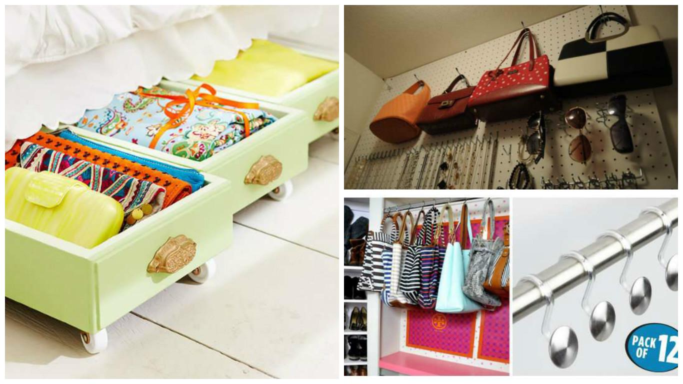 des astuces pour le rangement de vos sacs main bricolage maison. Black Bedroom Furniture Sets. Home Design Ideas