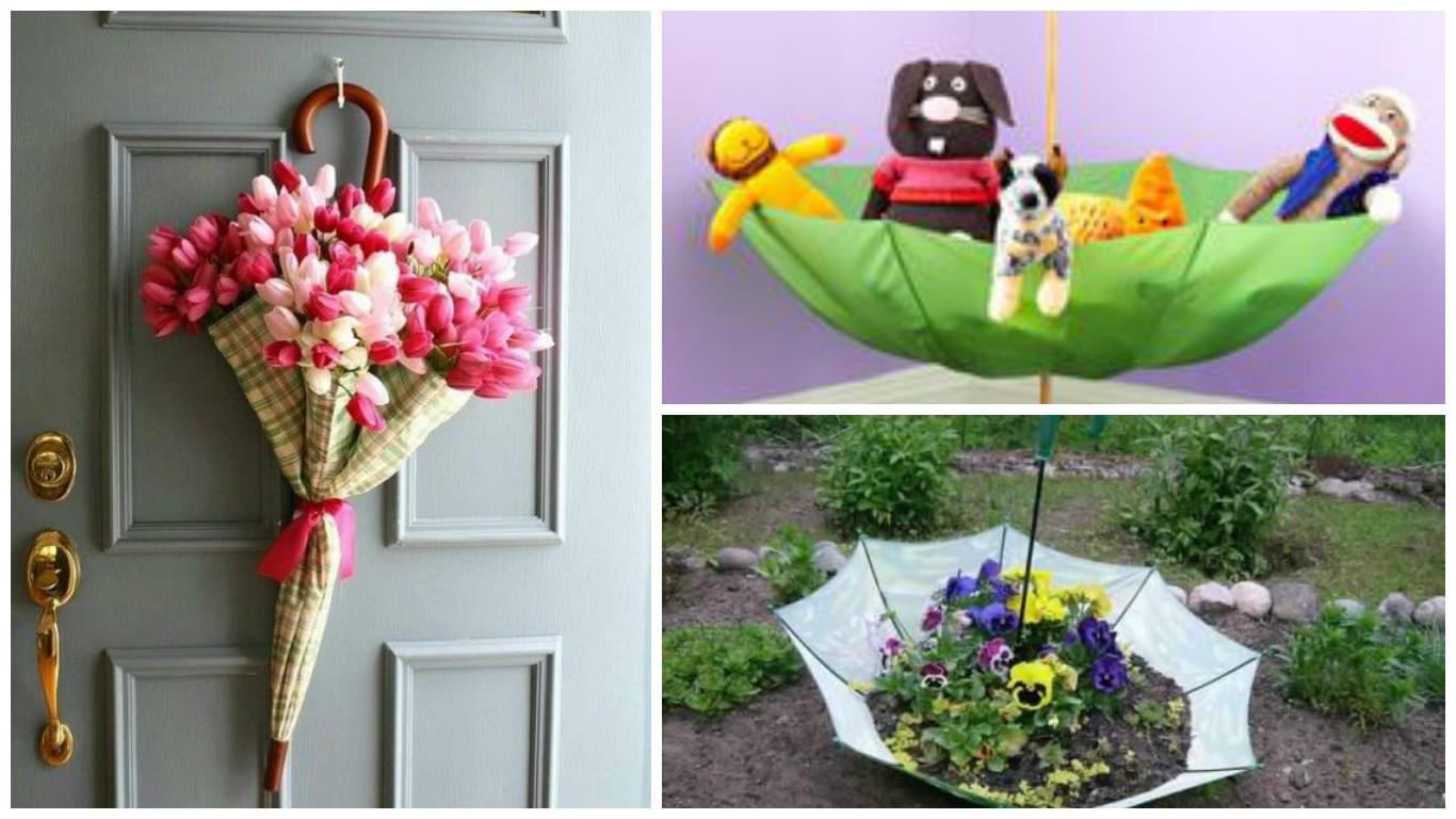 Deco Jardin Avec De La Recup des idées de récupération d'un vieux parapluie! - bricolage