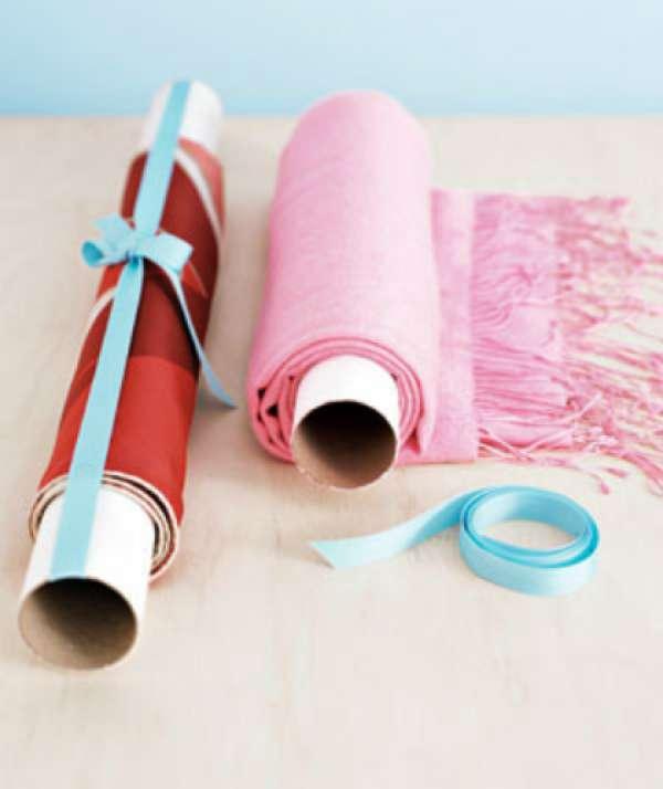 Rangement pour écharpes ou foulards