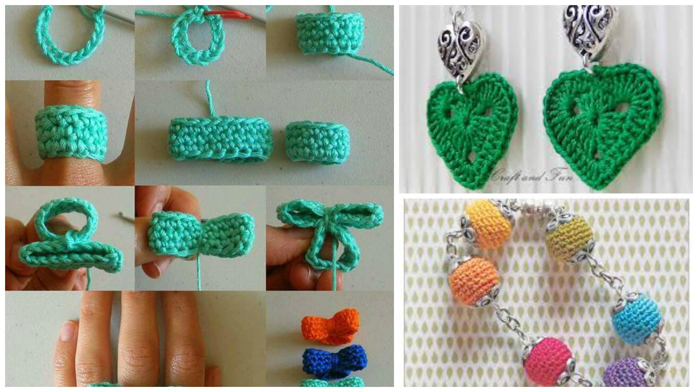 Des id es pour la cr ation de bijoux en crochet astuces for Idee de creation