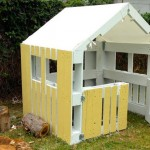 DIY : 5 étapes  pour la fabrication d'une cabane avec des palettes en bois!