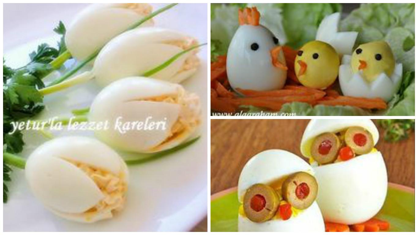 Les œufs pour la décoration de vos salades!   Bricolage maison