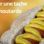tache de moutarde