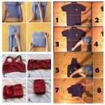 Astuces en images pour plier vos vêtements!
