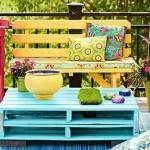 Peindre de vieux meubles pour décorer l'extérieur!