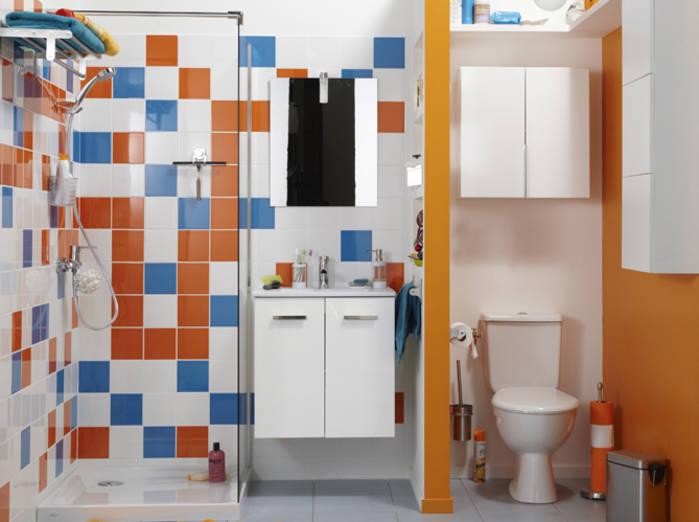 gain de place dans la salle de bains bricolage maison. Black Bedroom Furniture Sets. Home Design Ideas