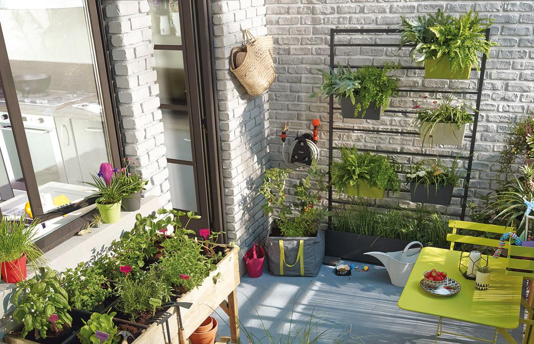des jardins suspendus pour le gain d 39 espace astuces bricolage. Black Bedroom Furniture Sets. Home Design Ideas