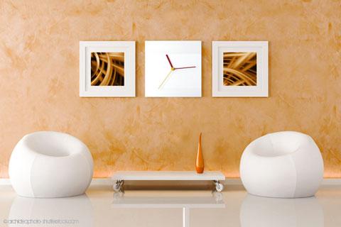 Comment r aliser un enduit mural effet tadelakt for Peinture effet miroir