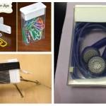 Des idées de récupération des boites de tic-tac!