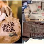 Des idées créatives de transformation des sacs de café pour une déco écolo!