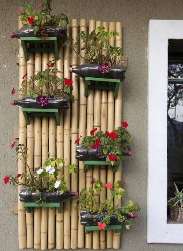 porte jardin bambou
