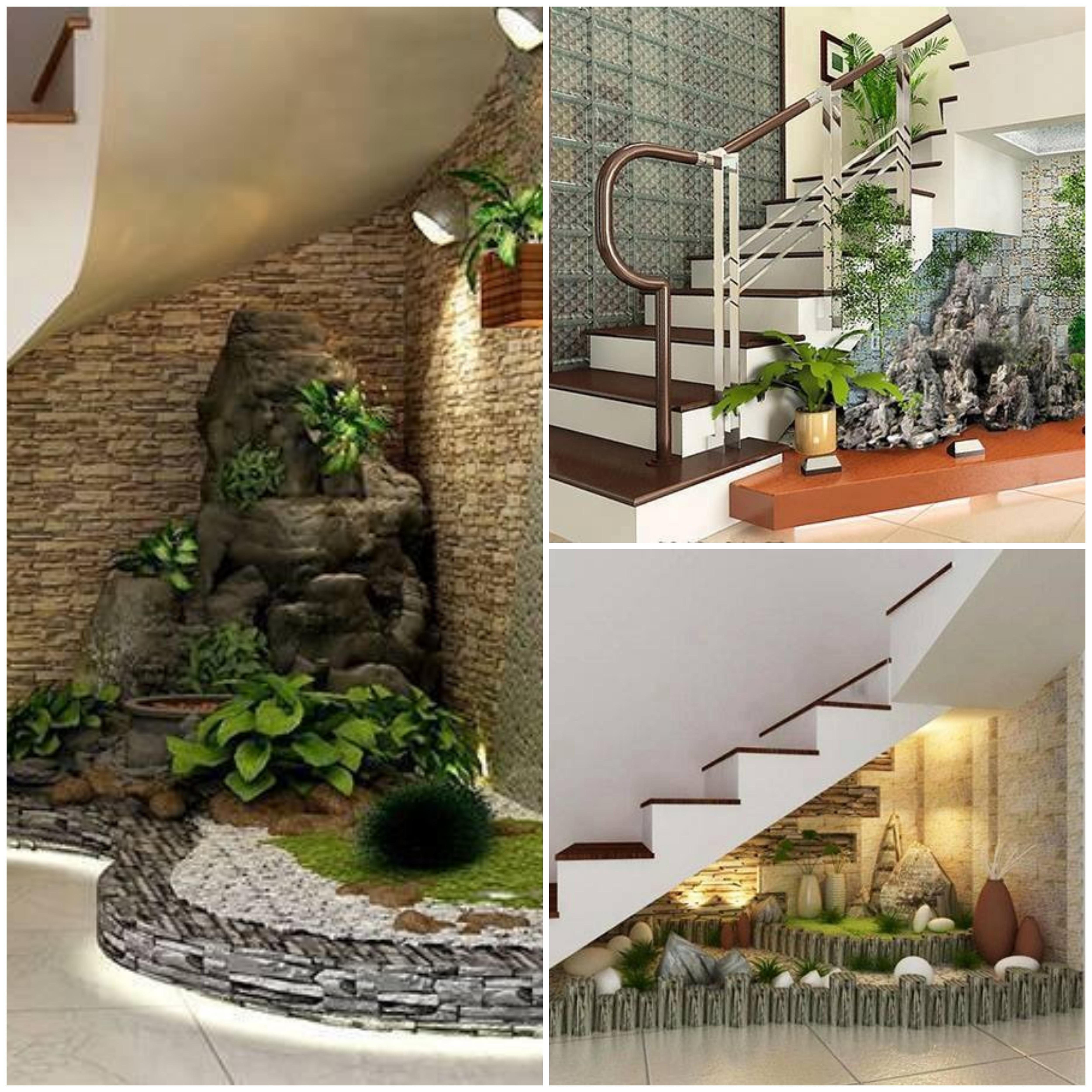 Optimiser l\'espace sous les escaliers avec un jardin d\'intérieur ...