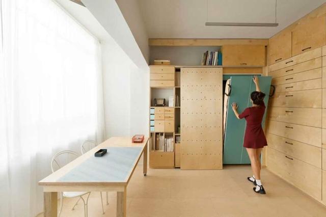 LES SECRETS DE L\'OPTIMISATION D\'UN STUDIO DE 8m² - Astuces Bricolage
