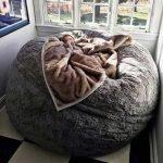 Le pouf fauteuil: le confort absolu!